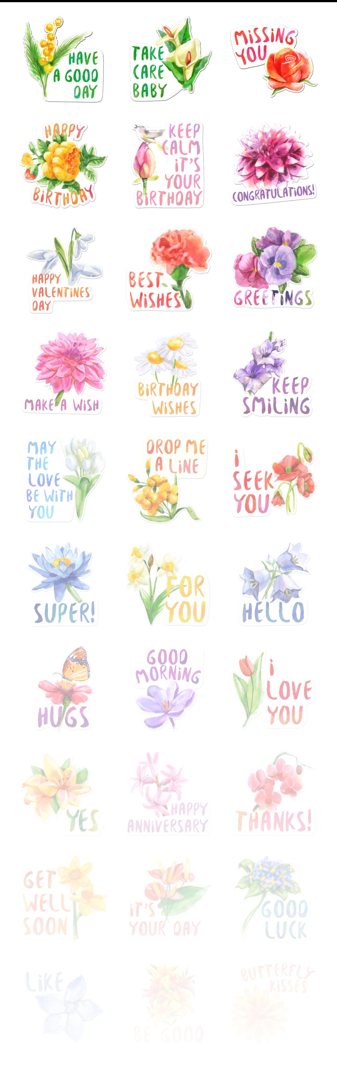Flowers - Stickerpipe