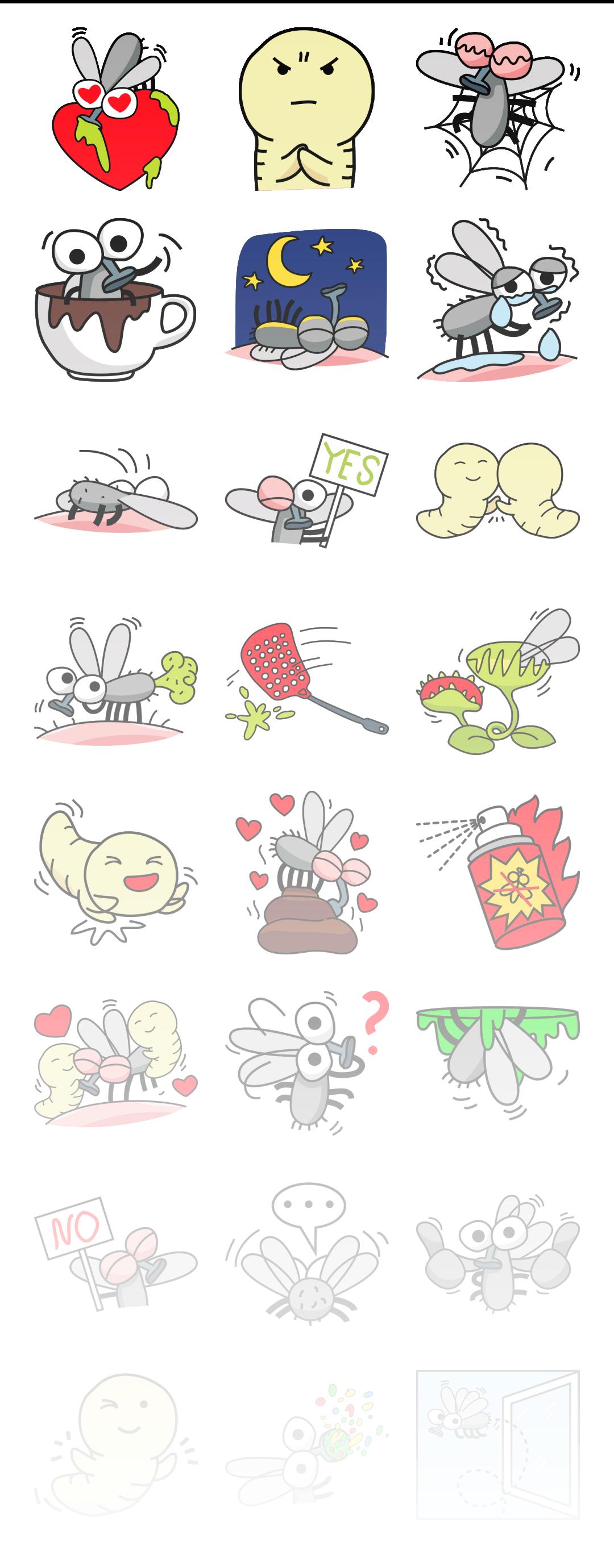 Bee Fly - Stickerpipe