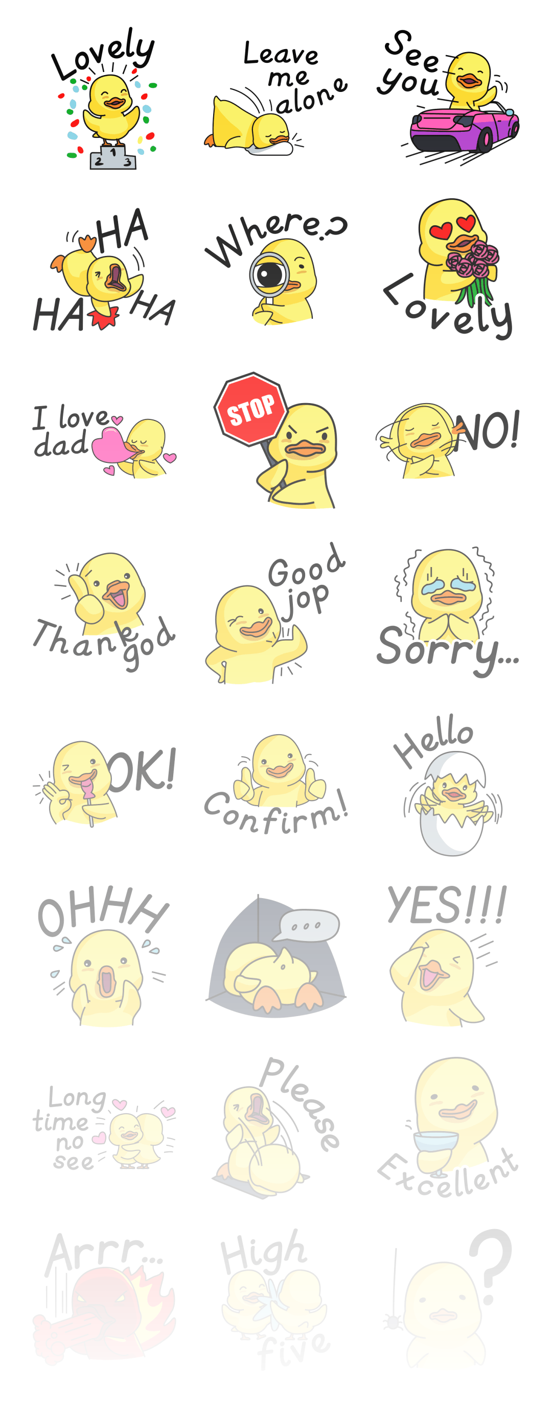 Duckling - Stickerpipe