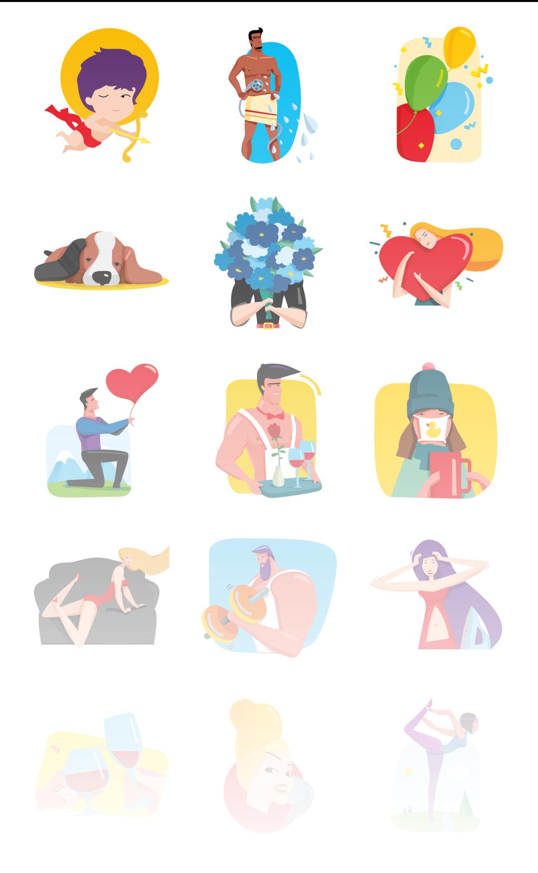 First Dating - Stickerpipe