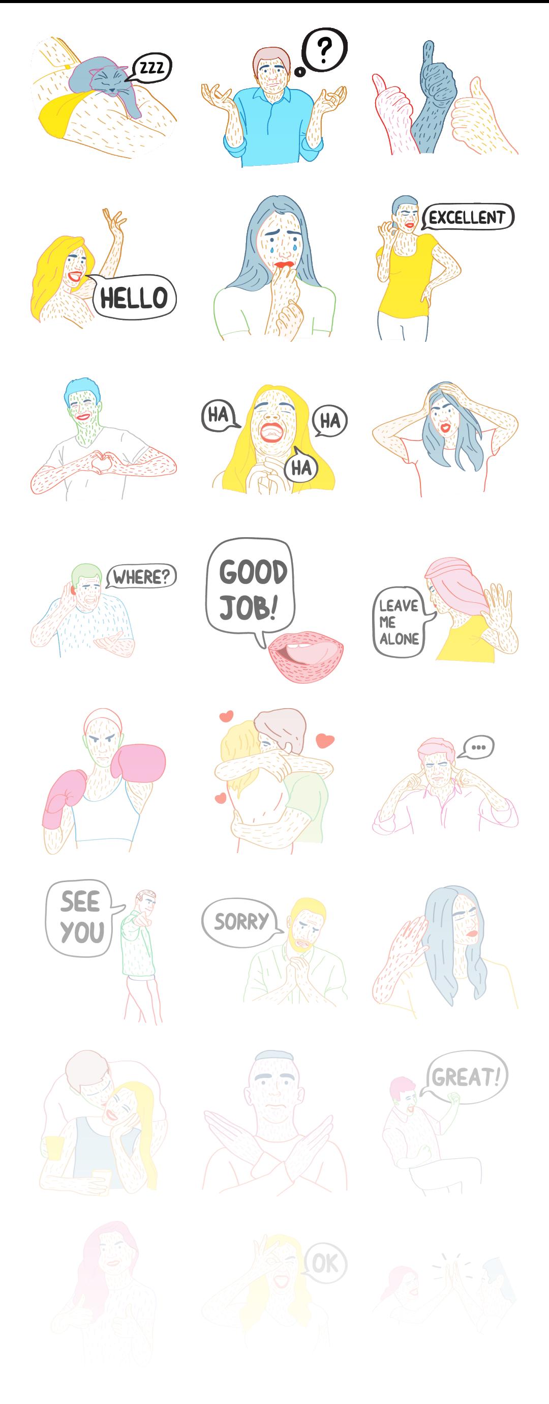 Friends - Stickerpipe