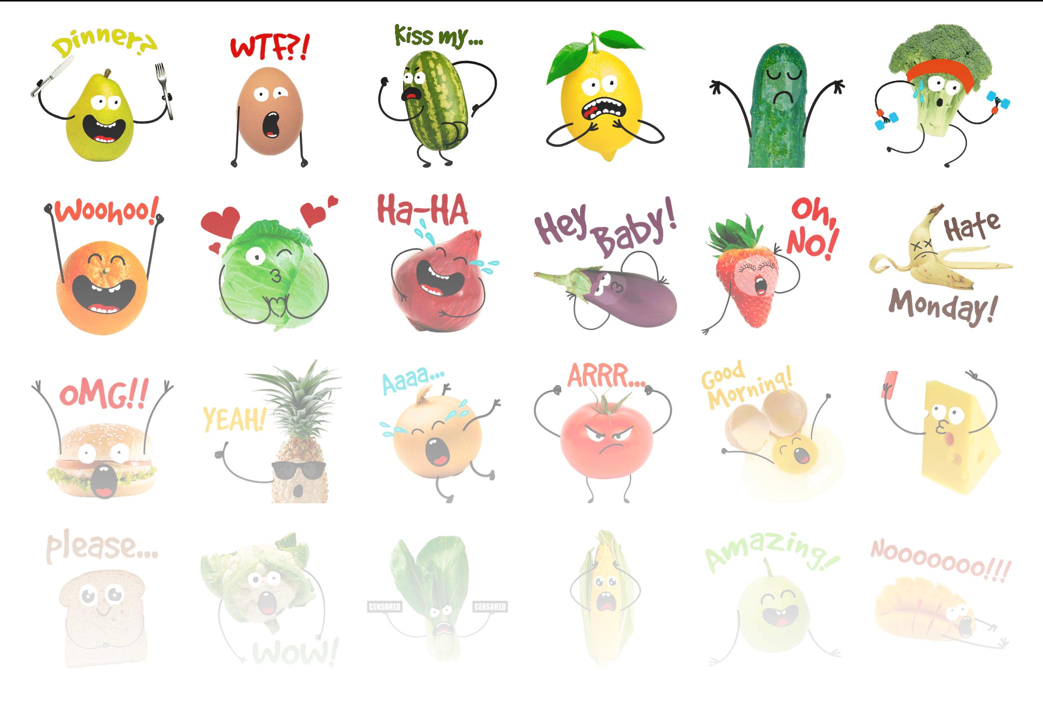 Lives of Foods - Stickerpipe