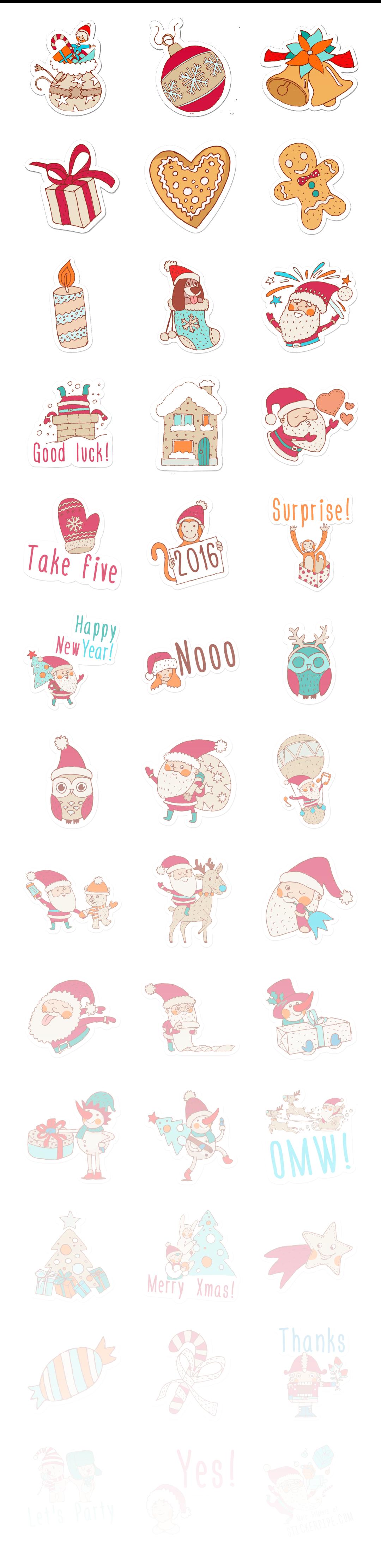 Merry Xmas - Stickerpipe