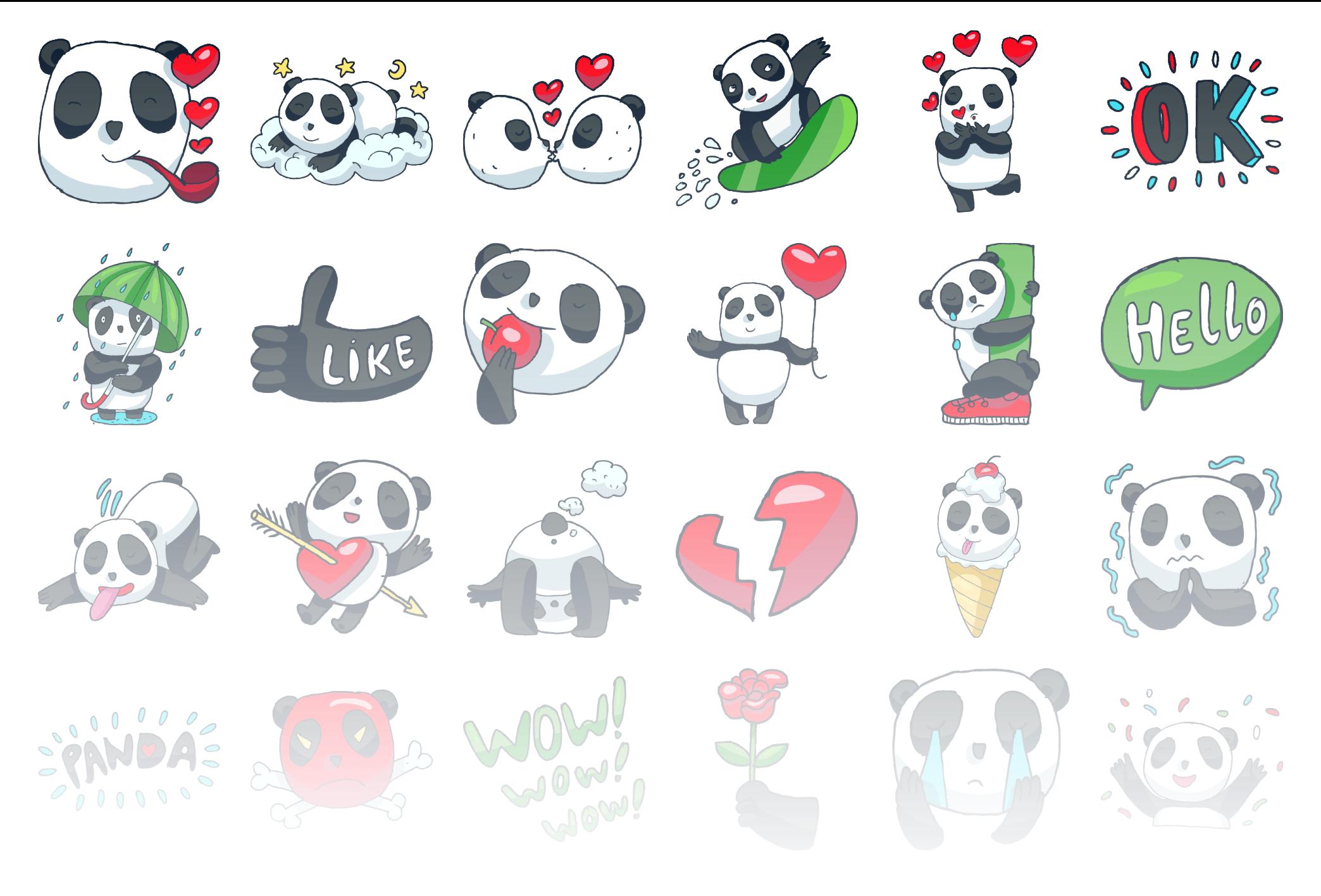 Panda - Stickerpipe