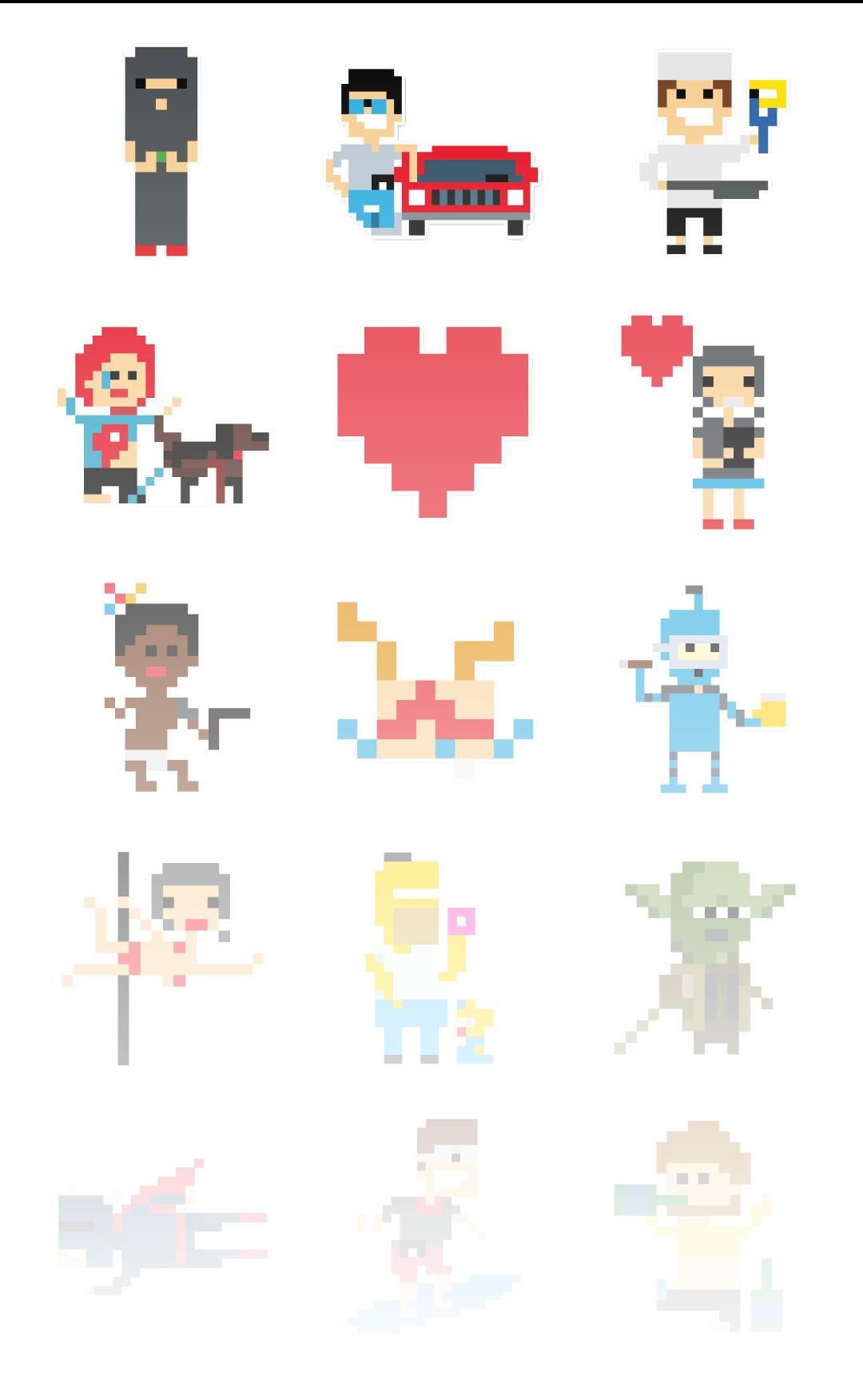 Pixels - Stickerpipe