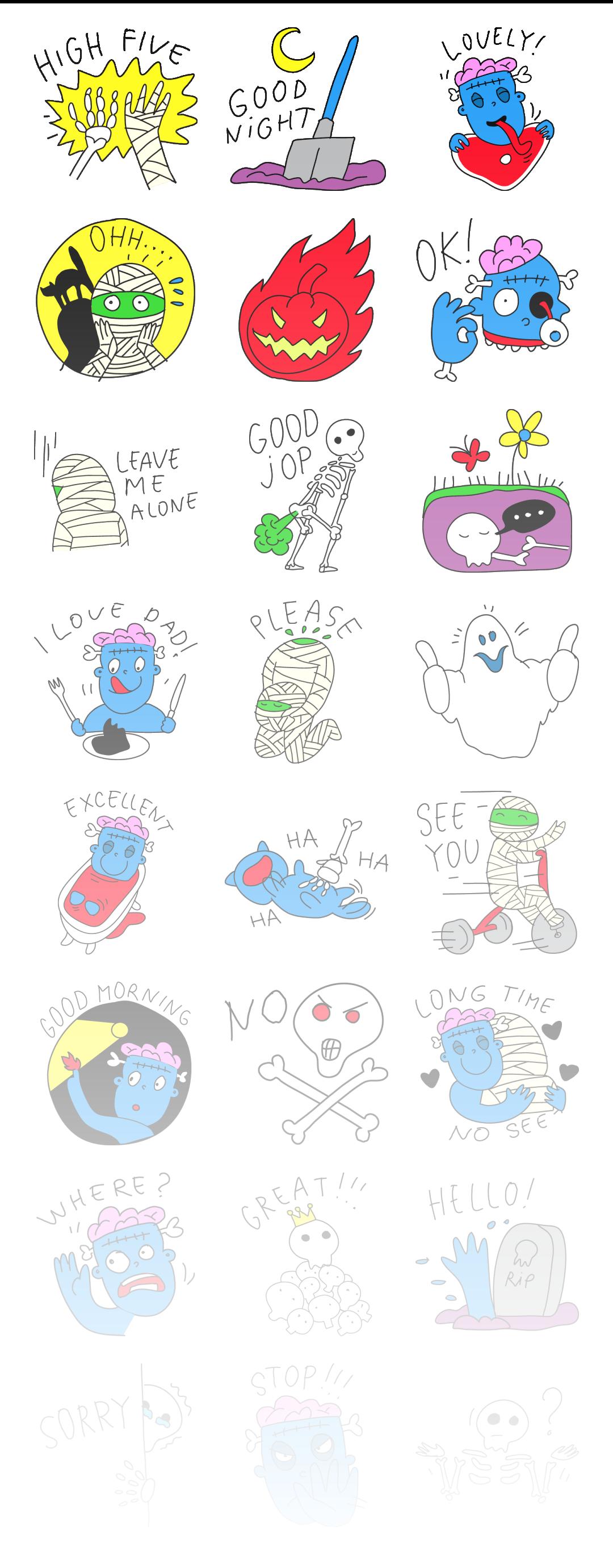 Zombie - Stickerpipe